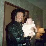 Tom Jones and Charlotte Laws' daughter